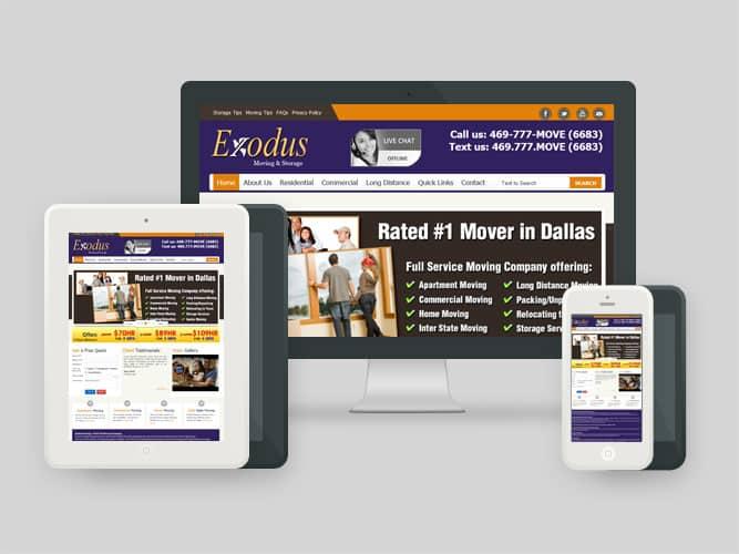 exodusmoving Website