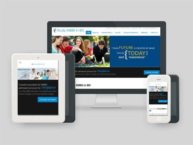 Website, Study MBBS in BD